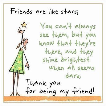 Thank You Being My Friend