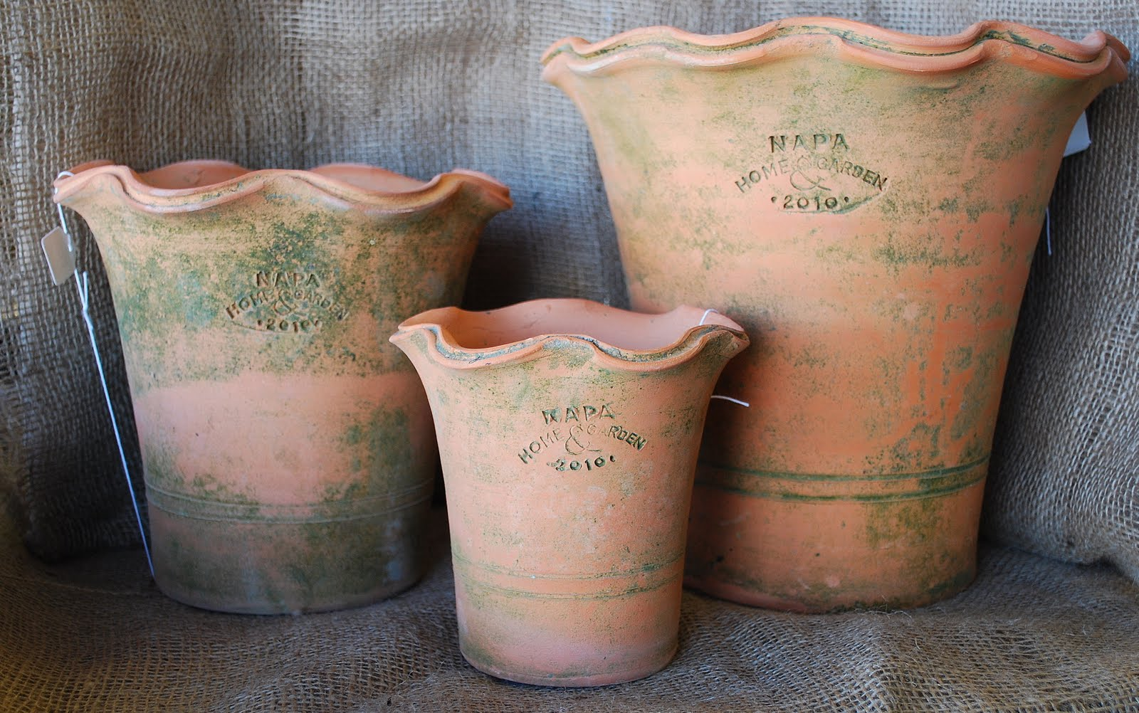 What S Up In The Attic New Shipment Of Garden Pottery