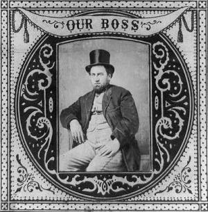 A New Book Thomas Nast Vs Boss Tweed The New York History