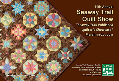 Quilters to be Featured at Seaway Trail Quilt Show