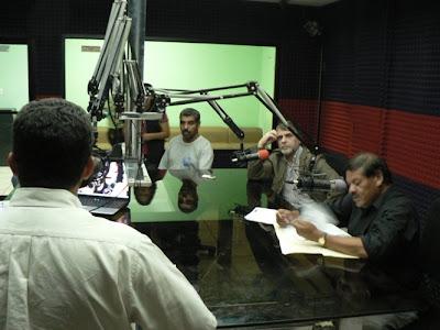 Radio Globo Honduras, una de las pocas emisoras de radio que se mantienen firme en contra de la dictadura honduraña.