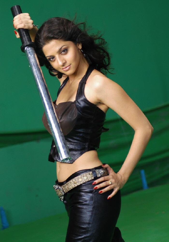 Hot South Actress Richa Gangopadhyay sexy Navel Seens