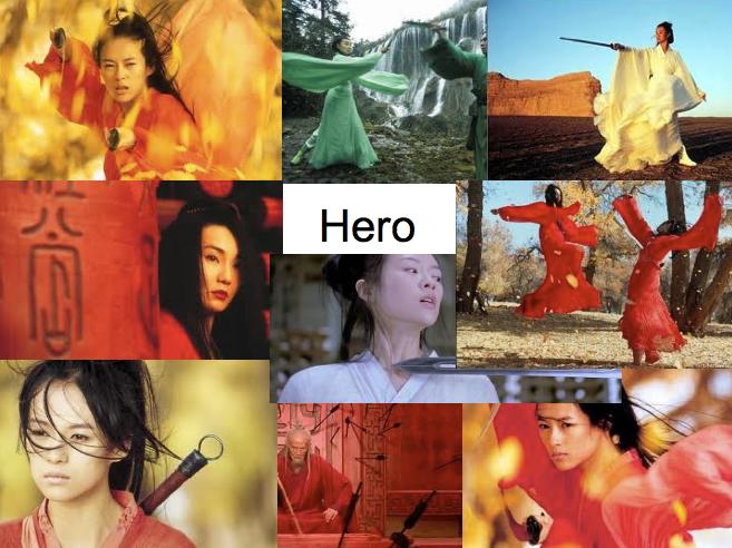 Movies East Asian Directors Marathon 2 Hero 2002 China Zhang Yimou