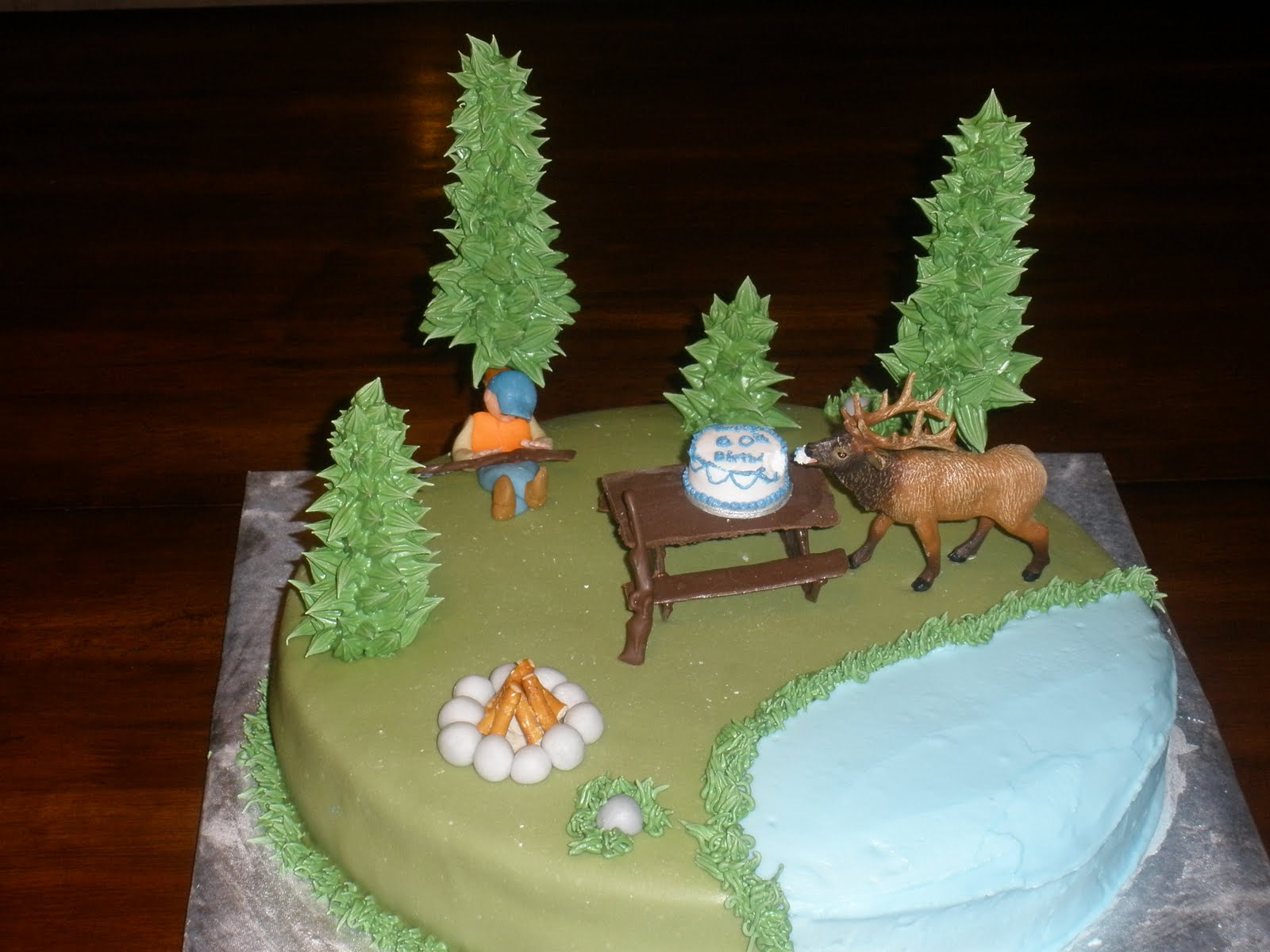 Hunting Cake Toppers For Birthday Cakes