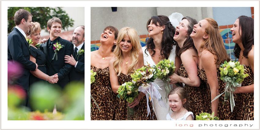Animal Print Bridesmaid Dresses