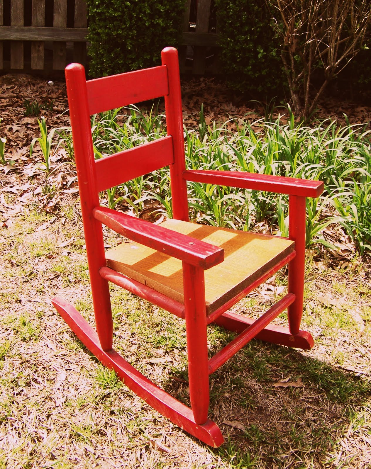 Miraculous Deannas Corner My Little Red Rocking Chair Part 1 Ncnpc Chair Design For Home Ncnpcorg