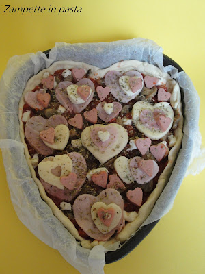 Pizza a cuore - Pizza San Valentino