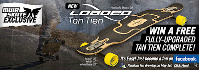 Longboarding Blog: FREE Loaded Tan Tien Longboard Skateboard