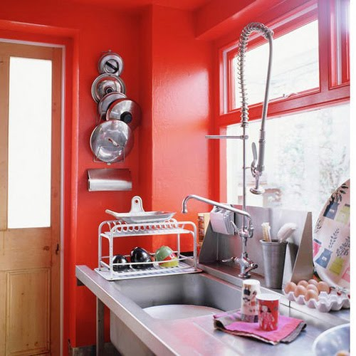 Would You Paint Your Kitchen Red Have The Walls Or Cabinets Be Leave A Comment We Love To Hear Thoughts