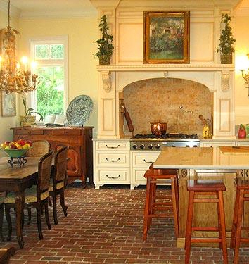 Whitehaven Kitchens With Brick Floors