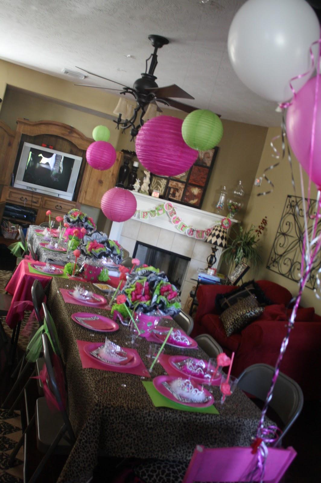 Sparkles N Sports Sydney S 6th Pink Carpet Princess Party