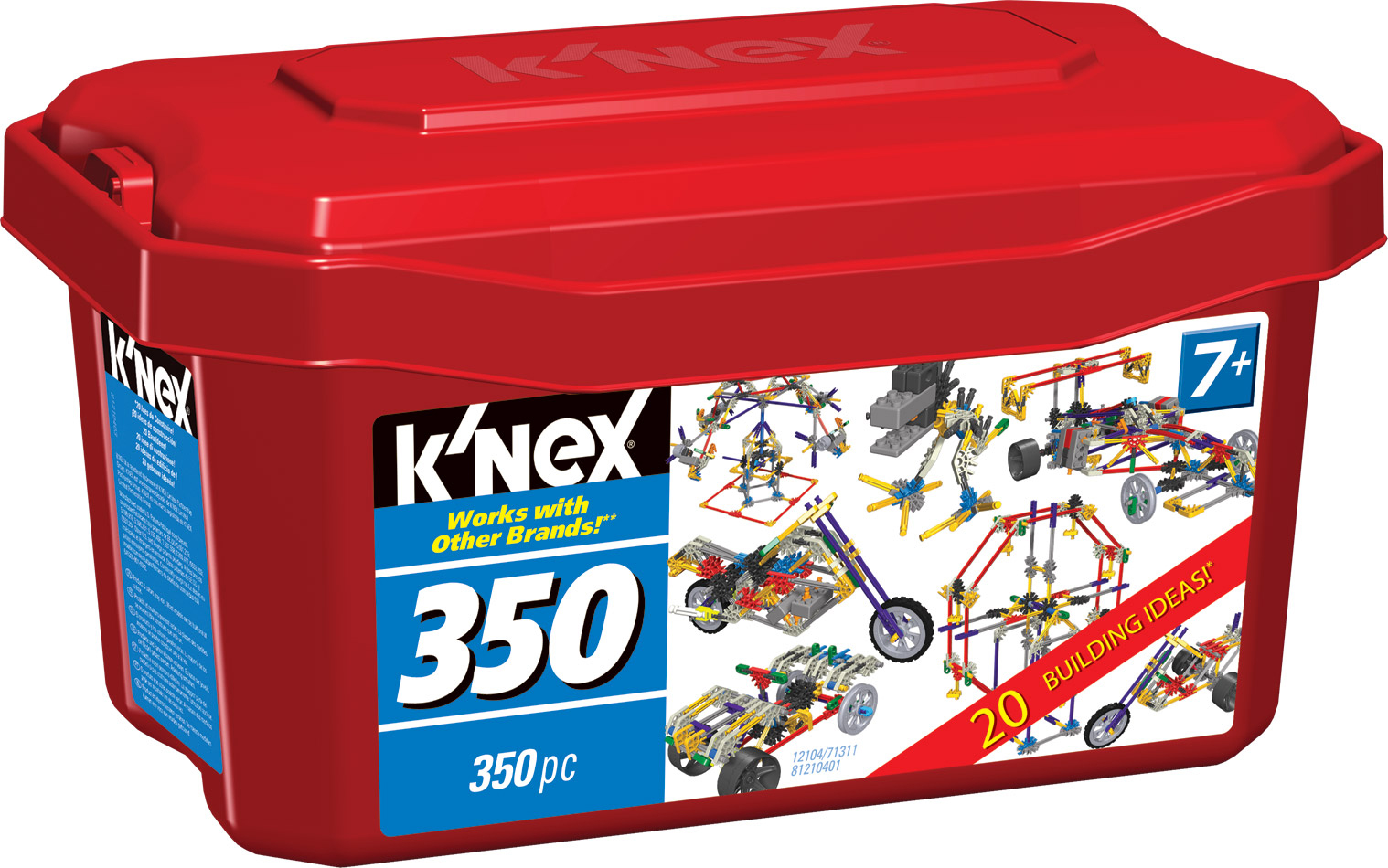 Life With 4 Boys Holiday Gift Guide K Nex 350 Piece