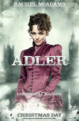 Rachel McAdams est Irene Adler - Sherlock Holmes