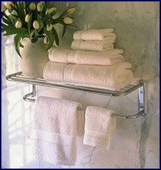 Remodel Amp More Pretty Towel Racks In The Bathroom