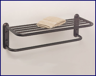 Chrome Hotel Towel Rack With Bar In 18 Size
