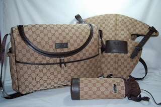 Designer Replicas Gucci Diaper Bag 123326 Set Baby
