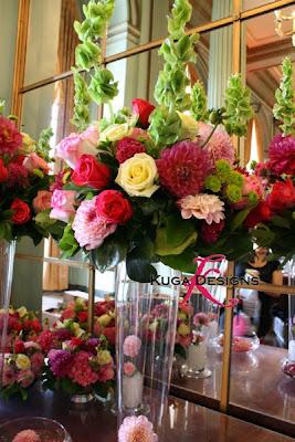 Kuga Designs Pink Wedding In A Green Room