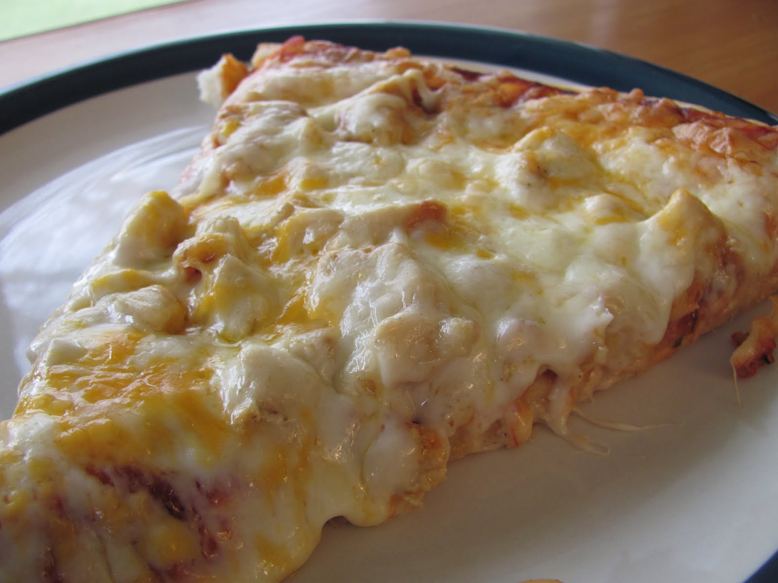 Better Than Burgers Chicken Parmesan Pizza