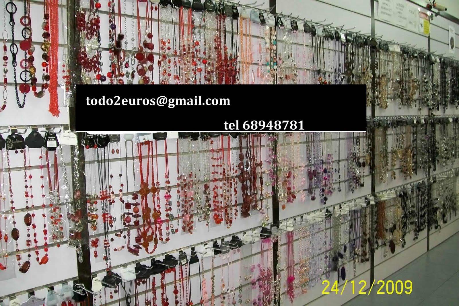 tiendas mayoristas todo a 2 euros bisuteria moda y complementos ... 4e7c52753718