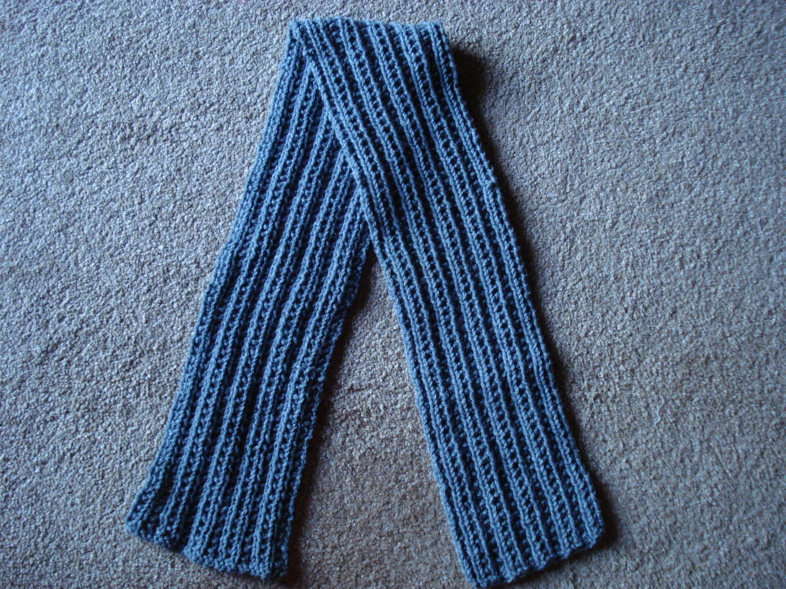 Men S Scarf Knit Pattern 171 Design Patterns