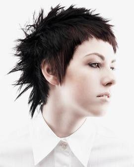 modern emo hairstyles girls 2017