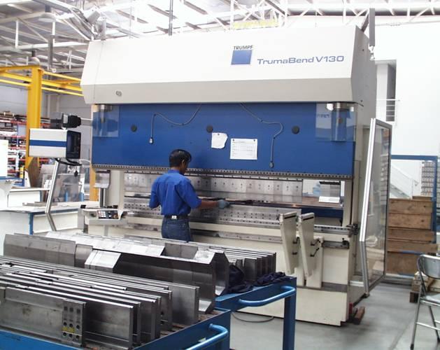 CNC Bending Machine – PT. Dempo Laser Metalindo