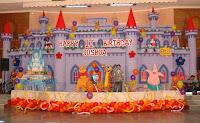 Dekorasi Backdrop atau background Ulang Tahun