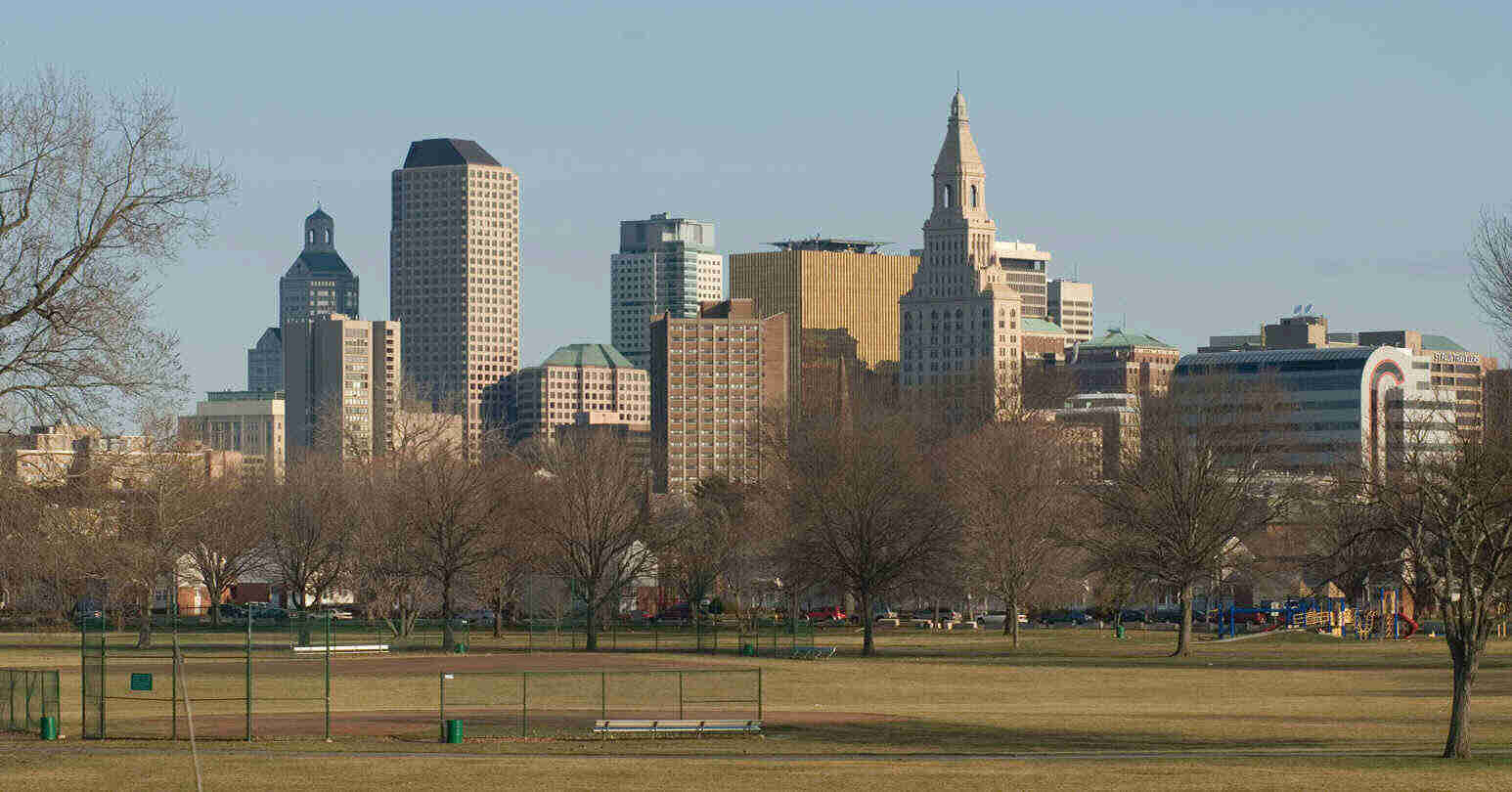 hartford whalers football team will be playing out of colt park in ...