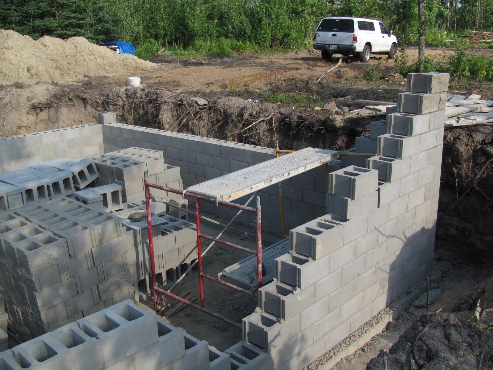 Jon's Minnesota Cabin: Basement Construction Day 1