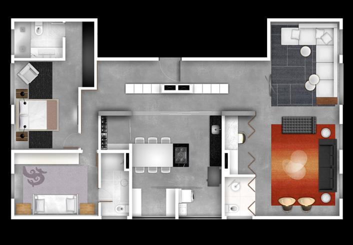 Max haus campo belo 70m 1 2 3 x dorm - Reformas en casas pequenas ...