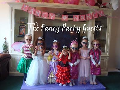 Homemaking fun a fancy nancy party a fancy nancy party filmwisefo