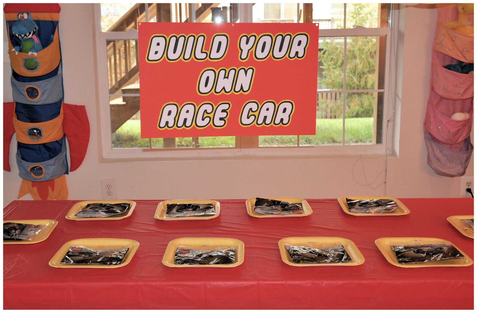 Homemaking fun a lego themed birthday party - Times table racing car game ...