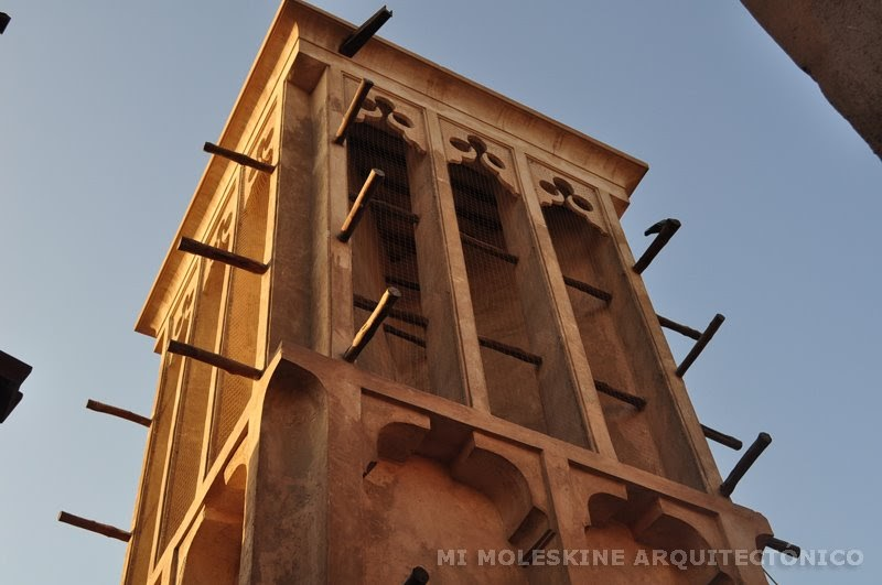 MY ARCHITECTURAL MOLESKINE®: THE OTHER SIDE OF DUBAI: WIND ...