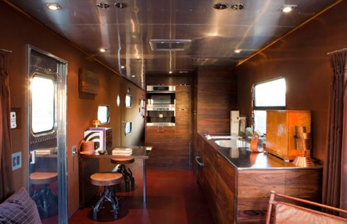 a simple life afloat Jane Hallworths Spartan Caravan