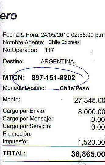 Mtcn number moneygram - Checkpoint ppc login