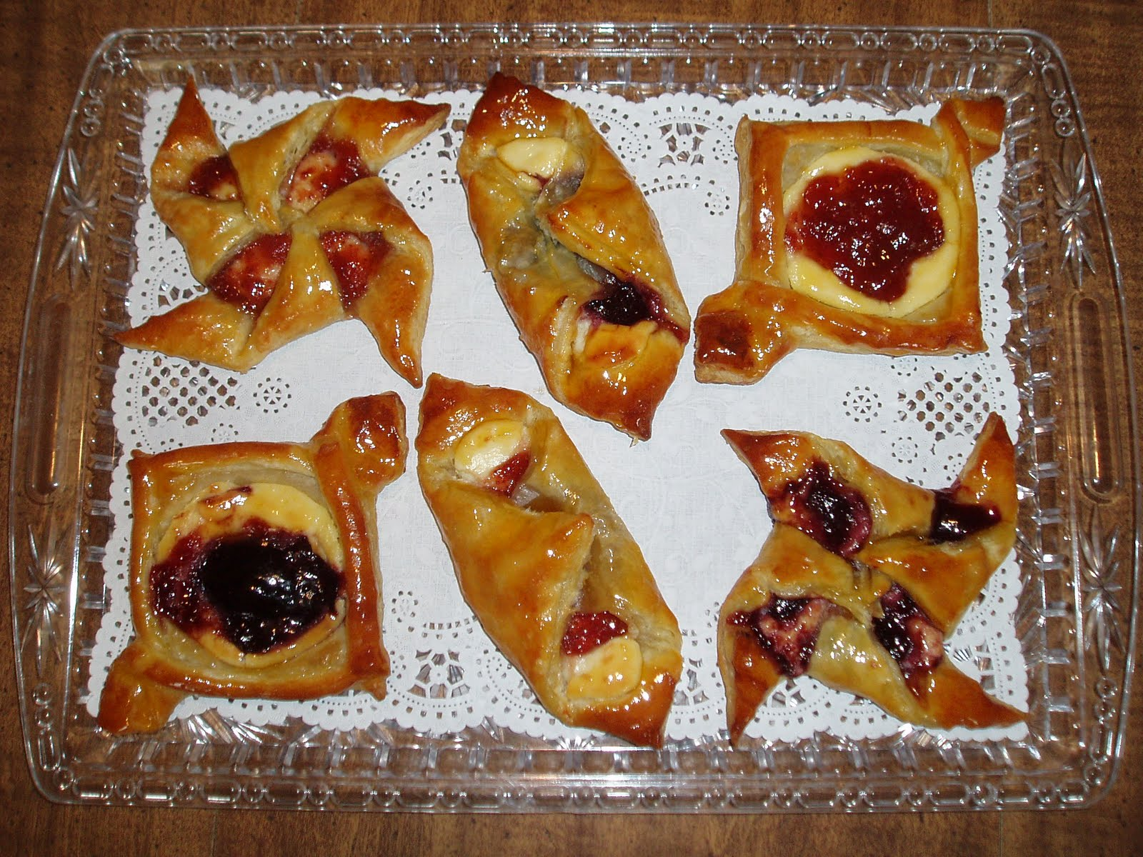 The Yankee Pastry Chef: Quick and Easy Puff Pastry Danish