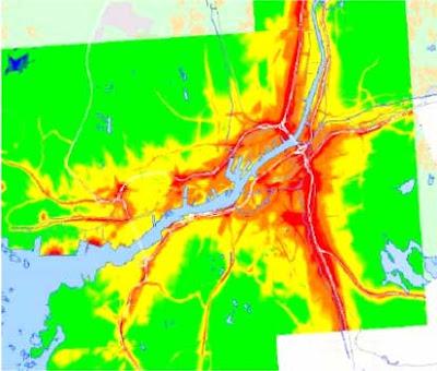 Luftföroreningar göteborg karta