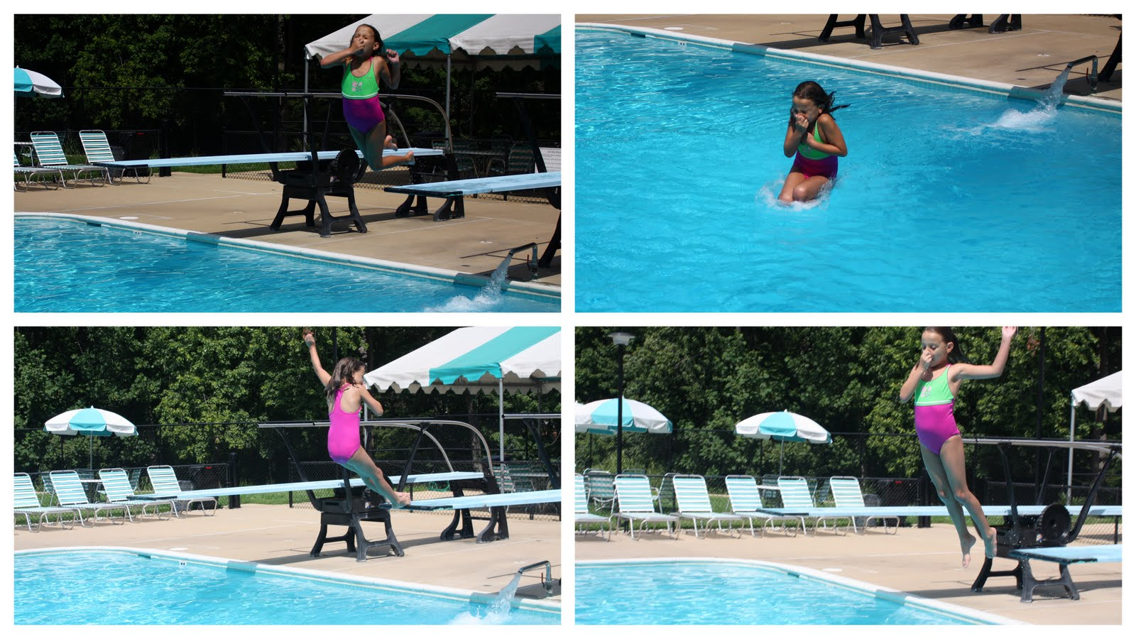Maney Family Fun: Progress at the pool!