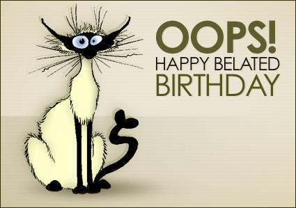 Verjaardag Te Laat Humor Oxq 16 Wofosogo