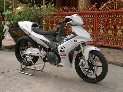 Modifikasi motor jupiter MX