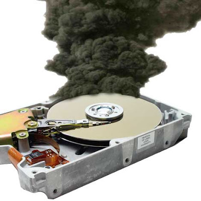 HardDisk was Burn