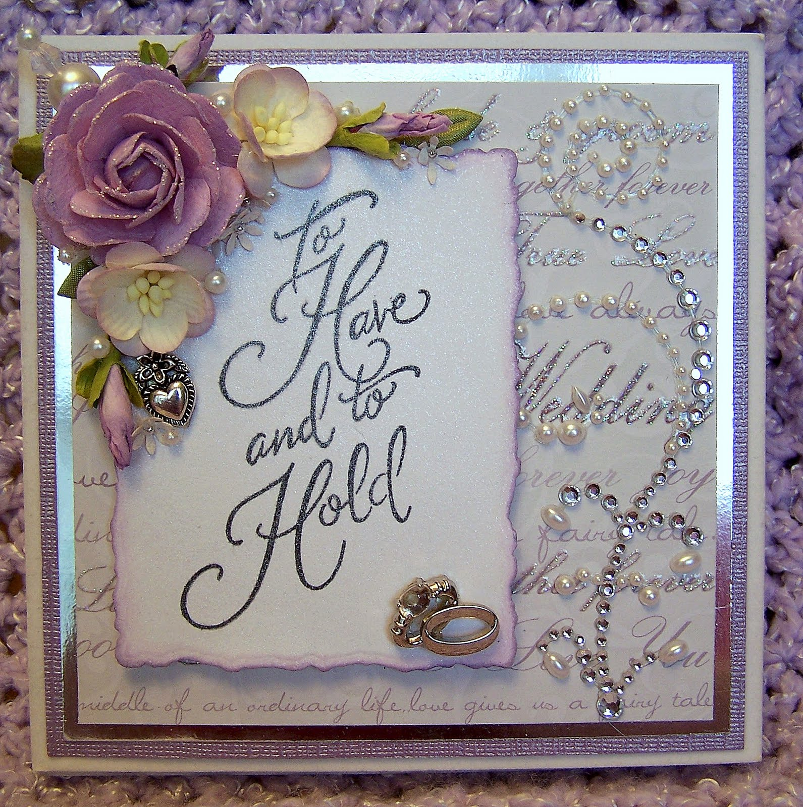 Wedding Cards: ScrappyLeggDesigns: Handmade Wedding Card