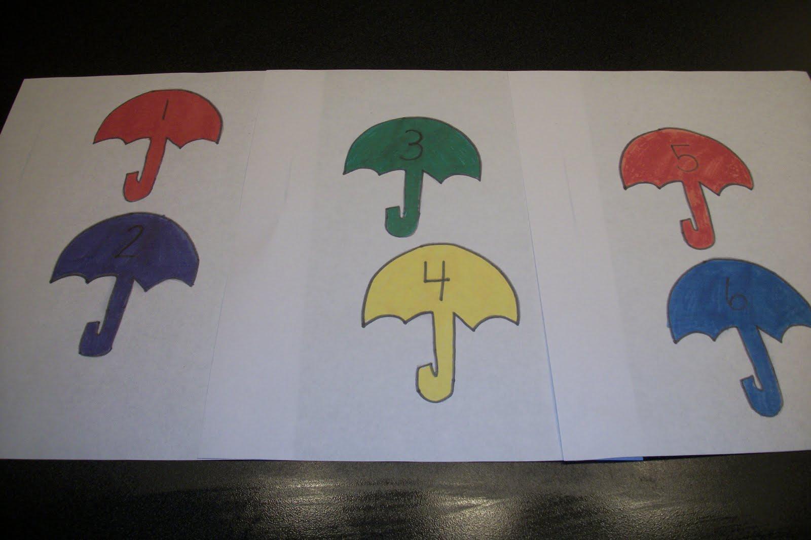 Fun Frugal Homeschool April Showers Printables