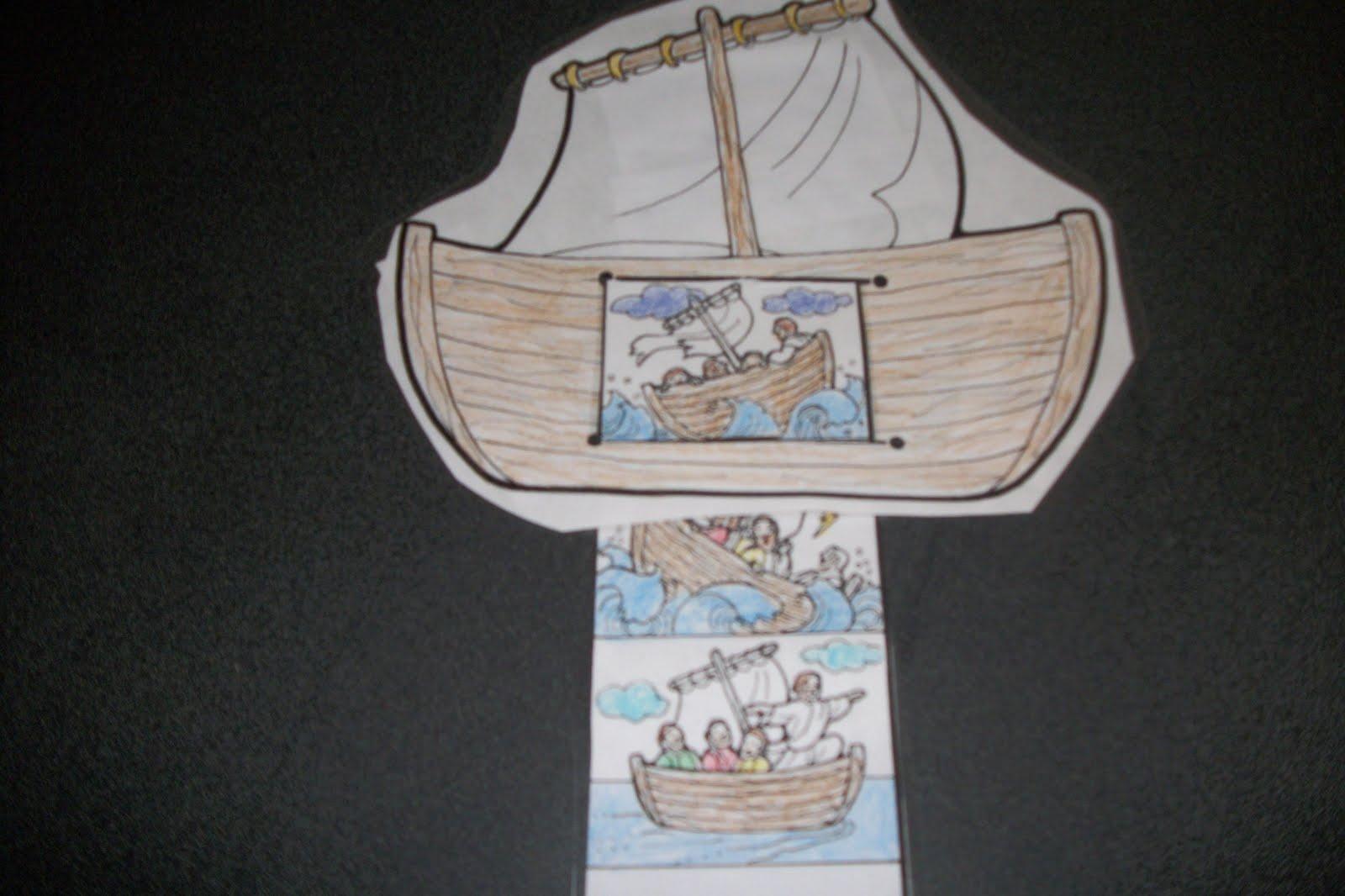 Storm Calms Jesus Craft