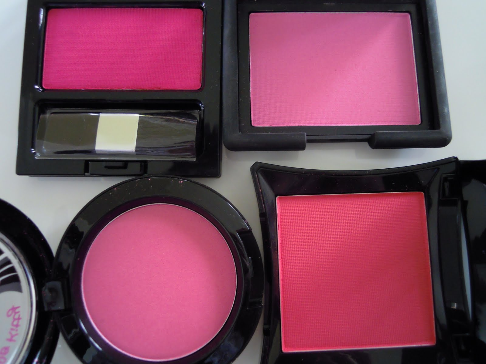 Image result for bright pink color powder