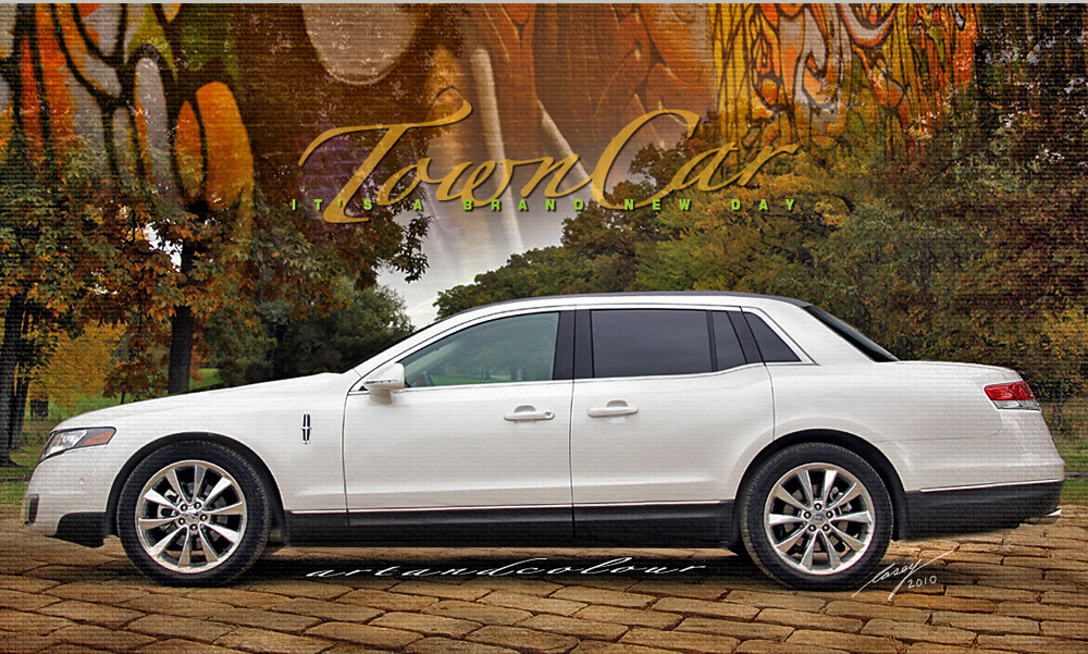 Lincoln Mkt Town Car: Casey/artandcolour: New Lincoln Flagship Based On MKT?