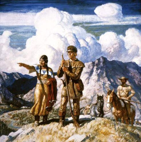 Native American Who Travels With Lewis And Clark