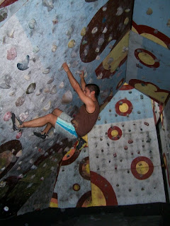 Visiting a Rock Climbing Gym in Costa Rica