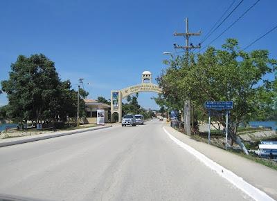 guatemala, Flores Island welcome arc