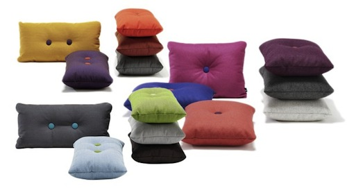 All the beautiful things I want Dot Steelcut pillow by